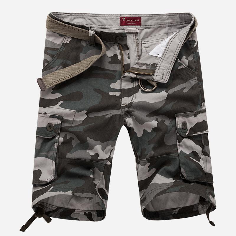 2016 men's shorts camouflage mens shorts cotton casual fashion basketball shorts men military man shorts Camo Green Grey Yellow(China (Mainland))