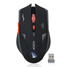 Rechargeable Wireless Mouse 2400DPI 2.4G Gaming Mouse Laser Mouse Gamer Silence Built-in Battery Computer Mice For PC Mac Laptop