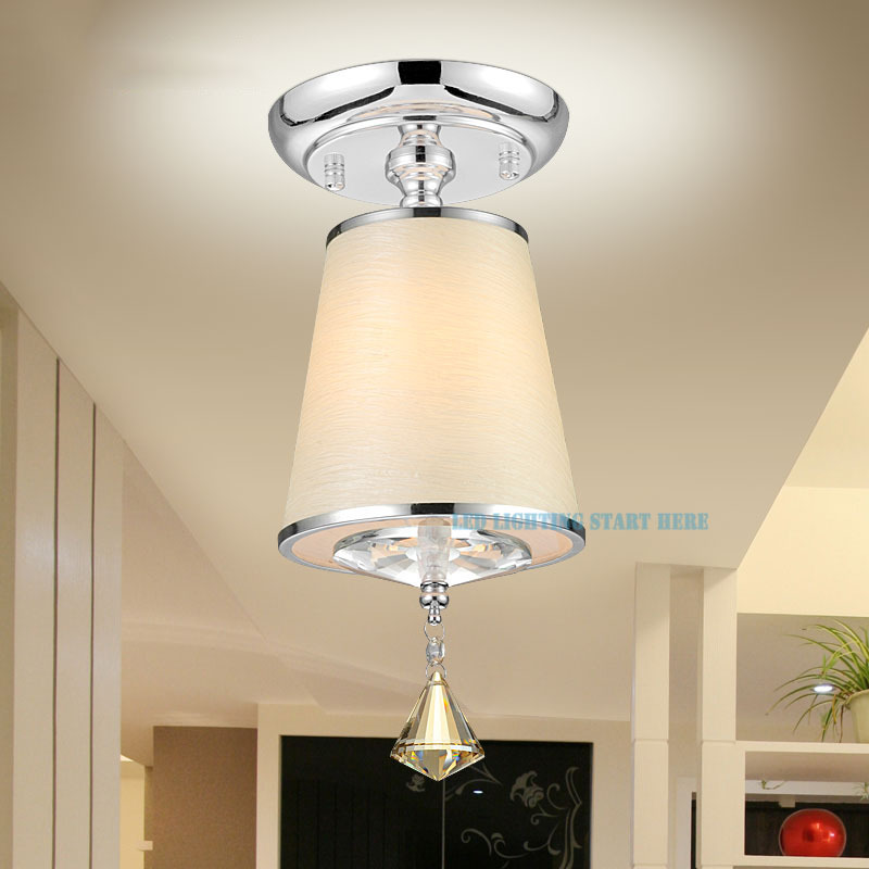 light ac90 260v e27 light source foyer dining room aisle ceiling lamp