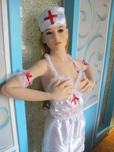Forr shopping High quality Life size realistic 100 full silicone sex dolls With Metal bone 3