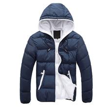 winter jacket men 2015 Outdoor new autumn and winter Korean men hooded cotton jacket cotton jacket thick warm coat