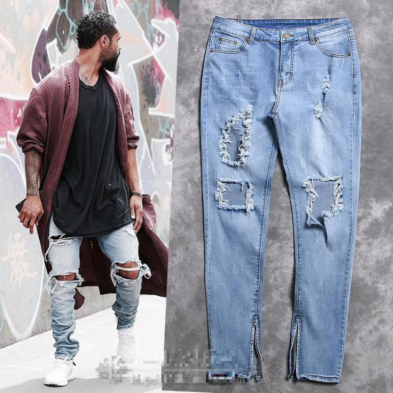 Ripped jeans men – Global fashion jeans models