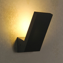 Italy 1 pcs led outdoor wall light 5w IP65 waterproof wall lamp porch lights Bar balcony Cafe Garden lighting  free shipping(China (Mainland))
