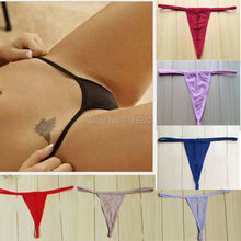 Wholesale Women Cosplay Sexy Lingerie See-thru G String T Back Brief Panties Underwear Thongs(China (Mainland))
