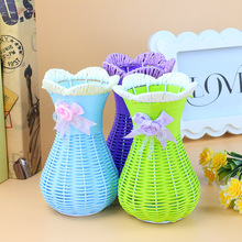 Factory Direct Rattan Articles Vase Furnishing Goods Of Furniture Than For Use And Crafts Element Supply Of Department Store(China (Mainland))