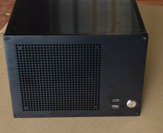 ITX computer case installed ATX power supply BZ06 lengthen version BZ06L aluminum HTPC computer case<br><br>Aliexpress