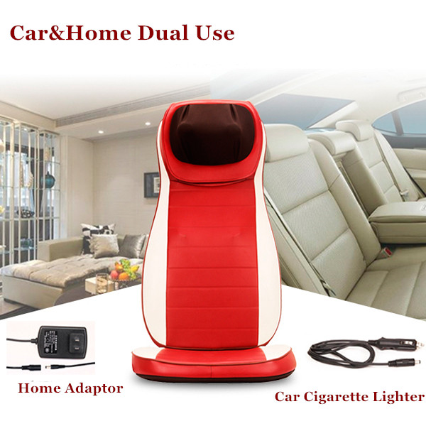 3D Car&House Dual Use Full-body Massage Chair Cervical Massage Device Neck Massage Cushion Household Open Back Massger Chair(China (Mainland))
