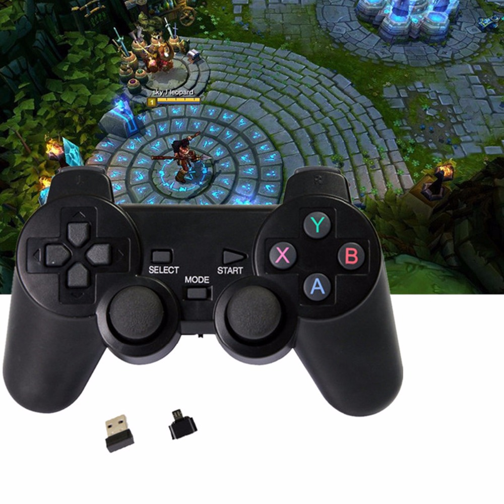 Android Wireless Gamepad For PS3 controller/Android Phone/PC/TV Box Joystick 2.4G Joypad Game Controller For Xiaomi Smart Phone(China (Mainland))