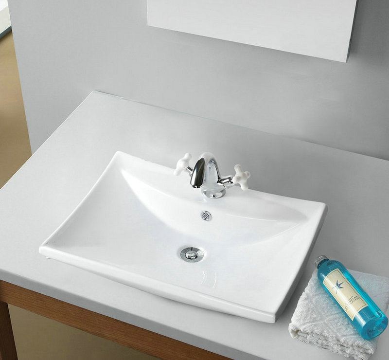 td3005 2 ceramic vessel sink bathroom square bowl wash