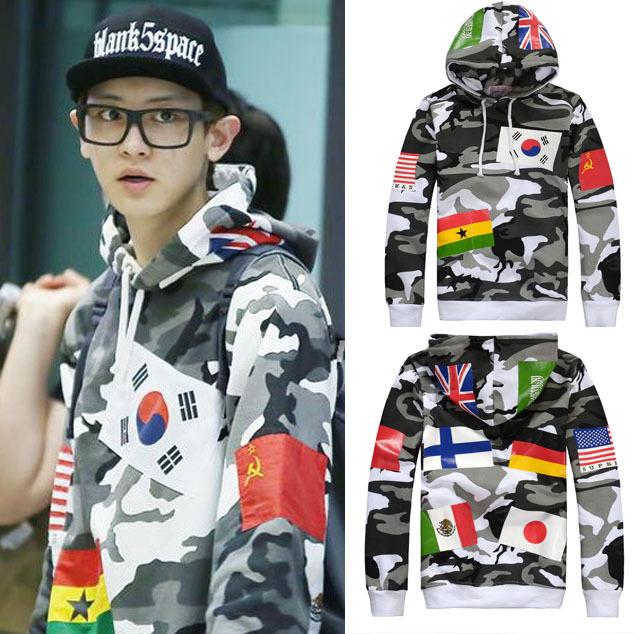 Top mode haute qualité du monde drapeau hommes et femmes Hoodies Sweatshirts hommes vêtements suprême capuche Mens Hoodies et Sweatshirts(China (Mainland))