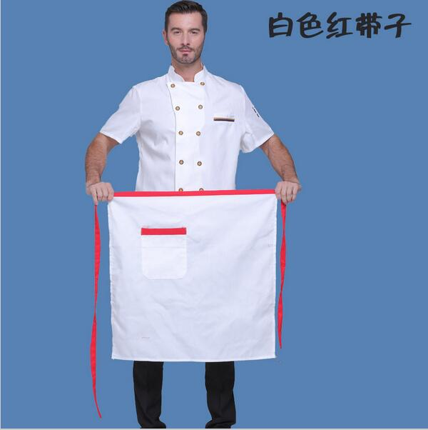 Hotel Restaurant Chef Apron Half Overalls Apron Waiter Coffee Kitchen Store Kitchen Apron Patterns Beautiful Aprons(China (Mainland))