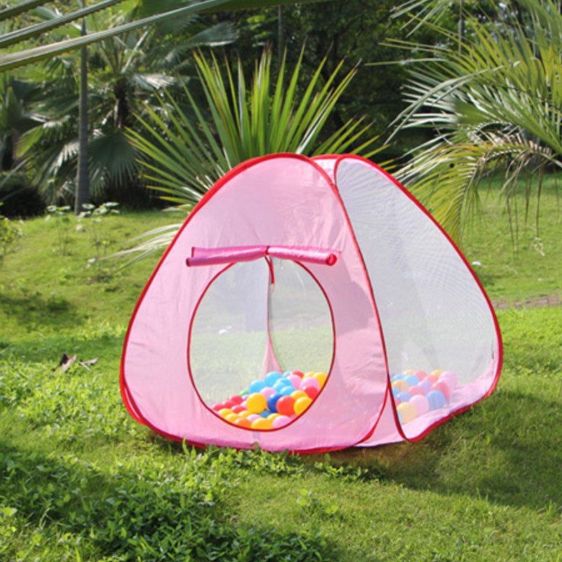 New Lovely Baby Play Tent Child Kids Indoor Outdoor House Large Portable Ocean Balls Great Gift Games Playing Tent without Ball(China (Mainland))