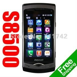 S8500 Wave Unlocked Refurbished Phone,3G Smartphone, WIFI, GPS, 5MP Camera, 3.3inch Capacitive Touchsreen