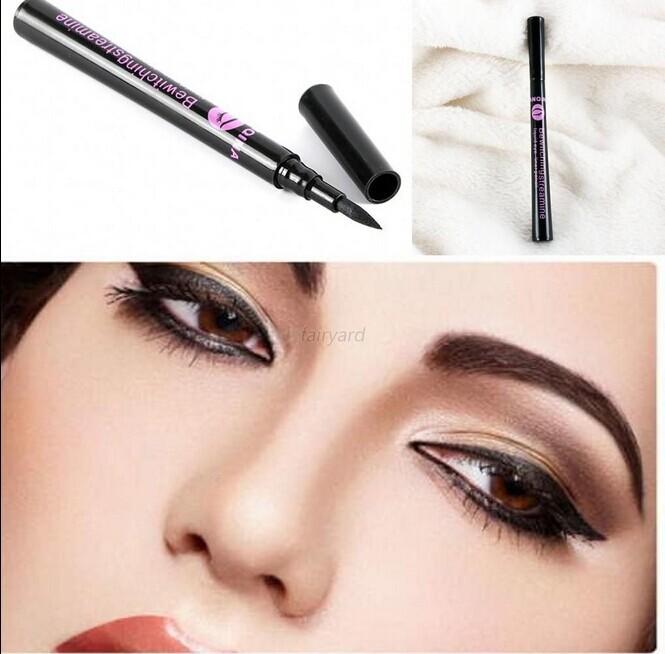 Hot Black Waterproof Eyeliner Liquid Eye Liner Pen Pencil Makeup Beauty Cosmetic For Freeshipping