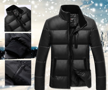 2014 Winter men's clothes  jacket coat,men's outdoors sports thick warm parka coats & jackets for man ! 1