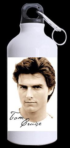 Tom Cruise pattern customized 400ML stainless steel Christmas sports drinking bottle aluminum sports bottle Kids Kettle(China (Mainland))