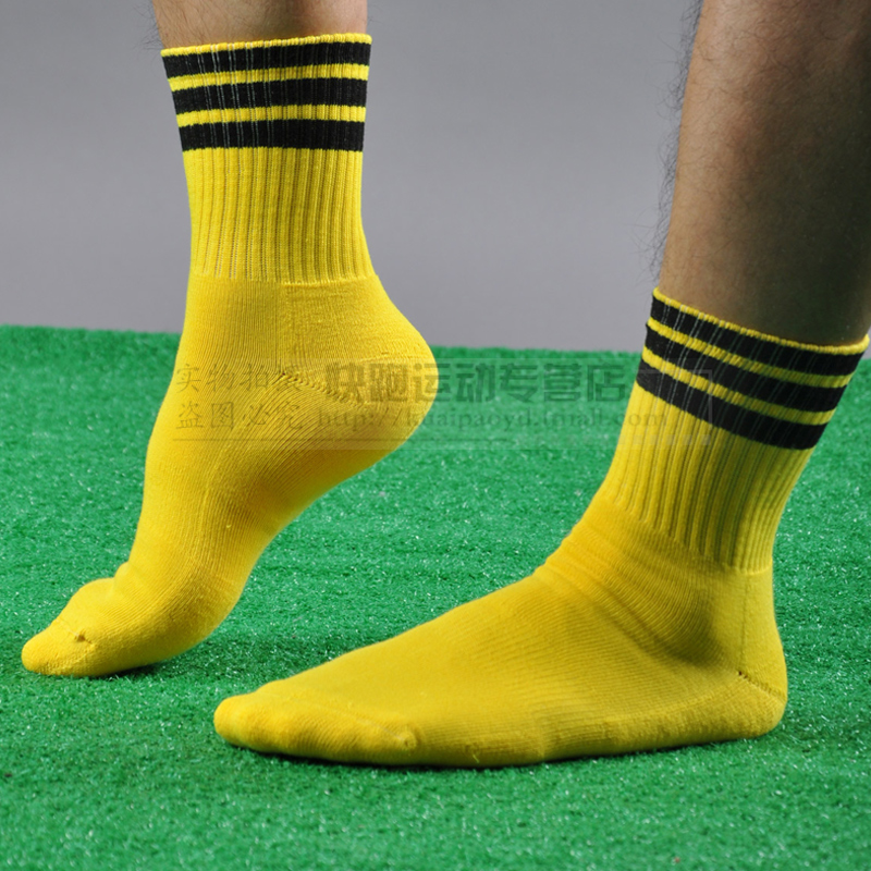 free shipping hot sale Football sock thickening towel male sports sock(China (Mainland))