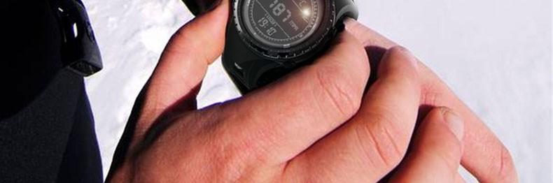 NORTHEDGE мужская Спортивные Часы Бег Плавание часы Высотомер Барометр Компас Термометр Погода Цифровой Шагомер Смотреть