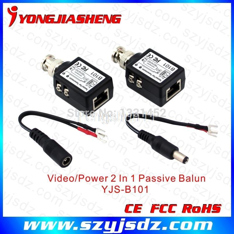 Best performance 1 ch video receiver Cat5 UTP Video Balun(China (Mainland))