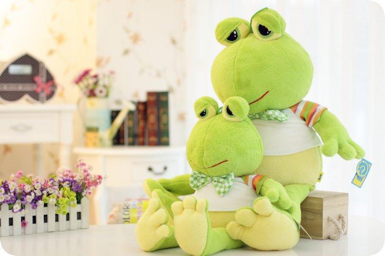 stuffed animal plush 80cm plush toy light green frog toy doll w1936(China (Mainland))