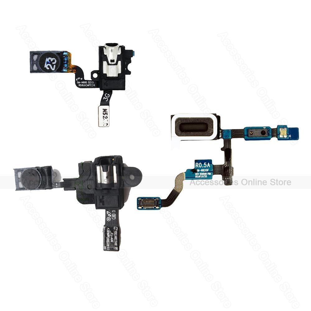 Original Earpiece ear speaker earphone Flex For Samsung Galaxy Note 2 N7100 Note 3 N900 N9005 Note 5 N920 N920F(China (Mainland))
