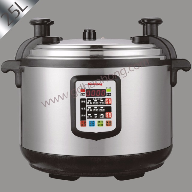 Electric Commercial Cookers ~ L commercial large capacity electric pressure cooker in