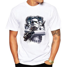 Buy New Arrive Star Wars T-Shirt Men/Boy Stormtrooper Printed T shirt Fashion Tee Shirt Tops Male men T Shirts Camiseta Tshirt Homme for $8.08 in AliExpress store
