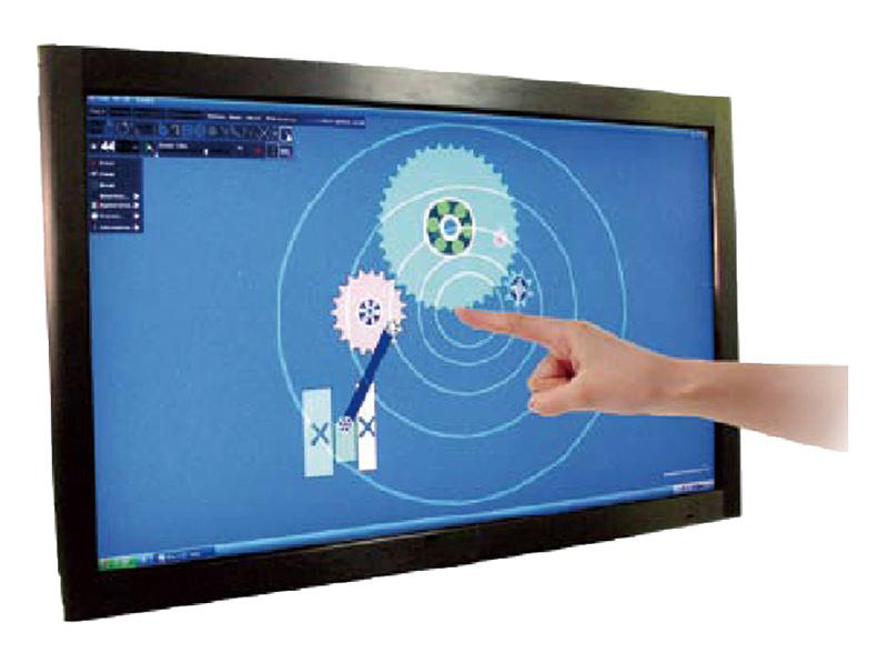 """50"""" 6 points multi lcd tv touch screen/infrared touch screen panel, fast shipping, Plug and play(China (Mainland))"""