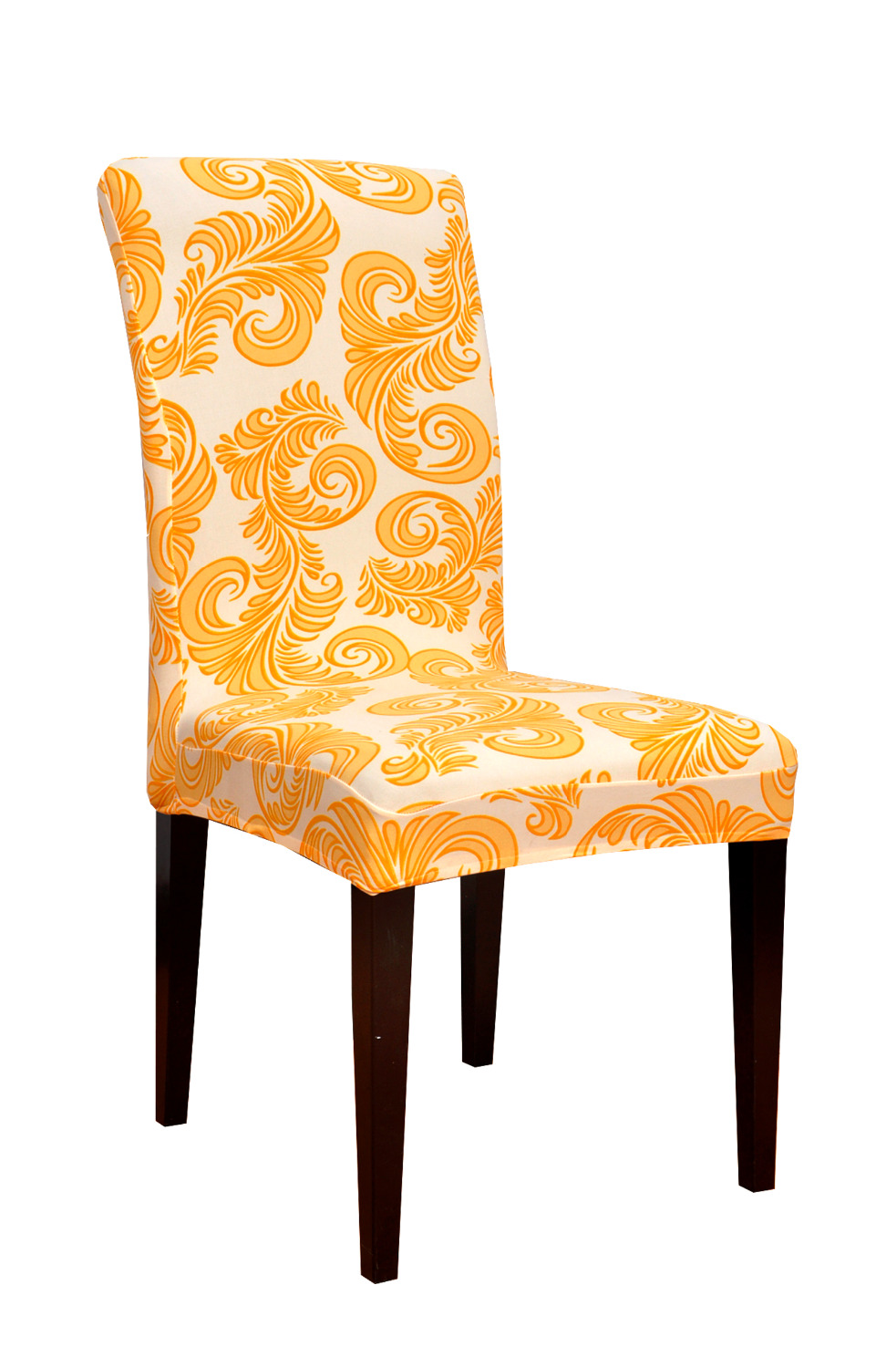 dining room decorate stretch printed fabric chair covers washable