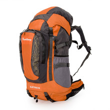 Buy Ultralight Climbing Bags 80l Waterproof Outdoor Camping Bag Big Hiking Backpack Large Sport Mochila raincover Bags for $63.24 in AliExpress store