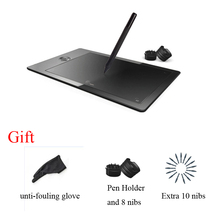 9×6 inch graphics tablet G5 with rechargable pen,2048 level,5080 LPI