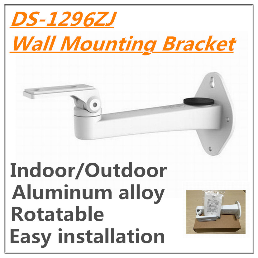 universal Indoor Pendent Mounting white Bracket DS-1296ZJ 1292ZJ for box bullet zoom cameras Aluminum alloy material<br><br>Aliexpress