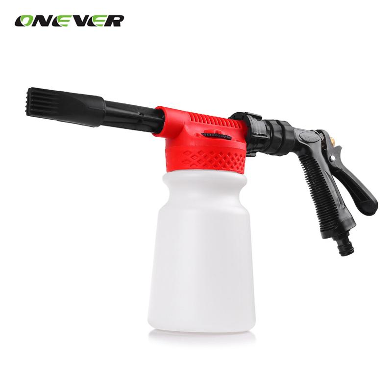 Multifunctional Car Washing Cleaning Foam Gun 900ML Car Washer Compatible Foam Snow Gun Sprayer For Car Motorcycle Washer(China (Mainland))