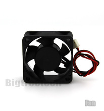 For 3d printer part 2 Wire 50x50x20mm DC Axial fan 5020 small DC brushless fan 12V
