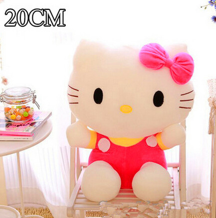 baby toy 20cm plush toys hello kitty toys for children kids girls classic stuffed animals soft toy doll brinquedo(China (Mainland))