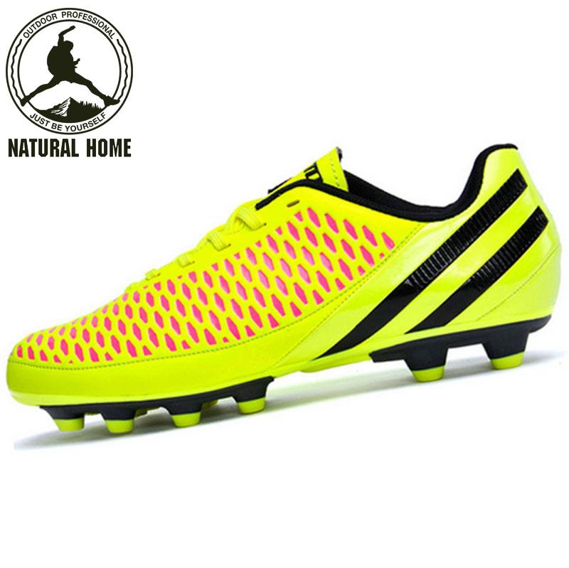 [NaturalHome] Brand Futbol Botines de Futbol Sports Zapatos 2016 Kids Soccer Deportivas Chaussure Football Men's Boots(China (Mainland))