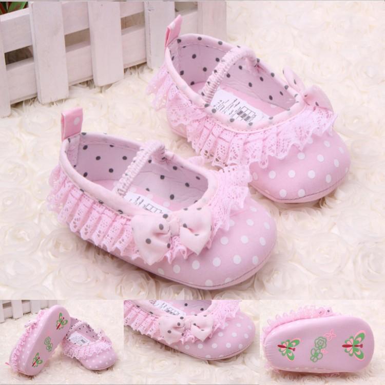 Новый прекрасный трикотажные кружева детская обувь новорожденной девочки обувь 11 см 12 см 13 см первые ходоки детские младенцы обувь c0017-p