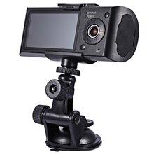 HD Car Camera Dvr Recorder Dual Lens Camcorder Dash Cam With Rear 2 Vehicle View Dashboard Ir Led Night Vision free shipping(China (Mainland))