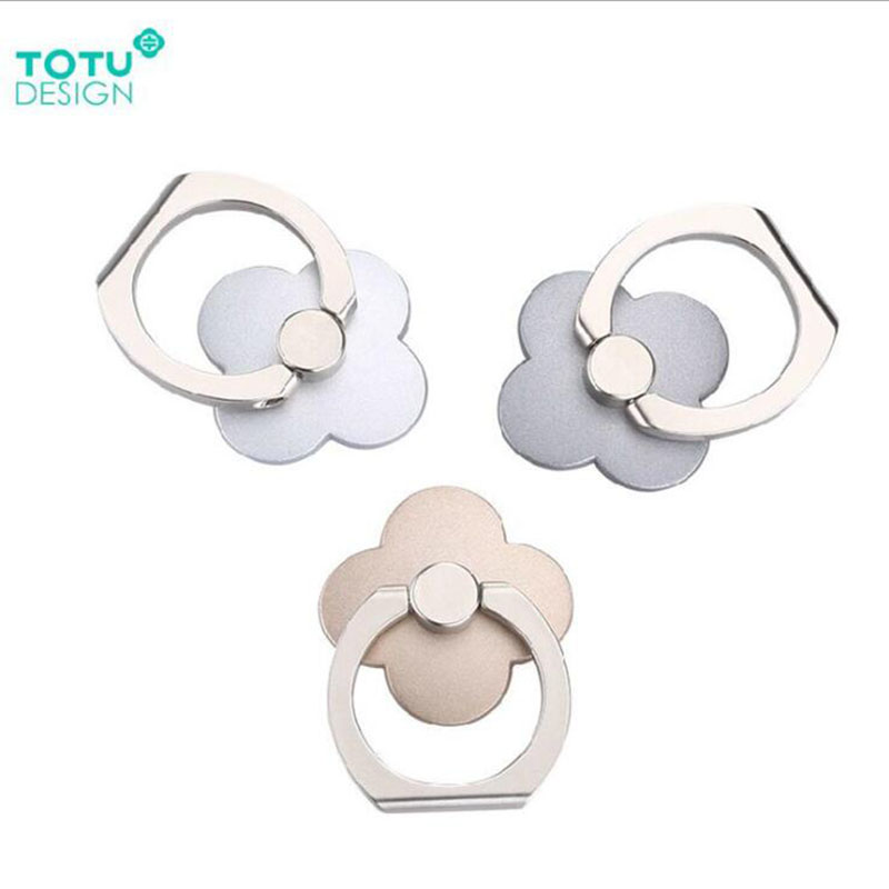 TOTU 360 Degree Metal Finger Ring Mobile Phone Smartphone Stand Holder For iPhone Samsung Smart Phone GPS MP3 Car Mount Stand(China (Mainland))