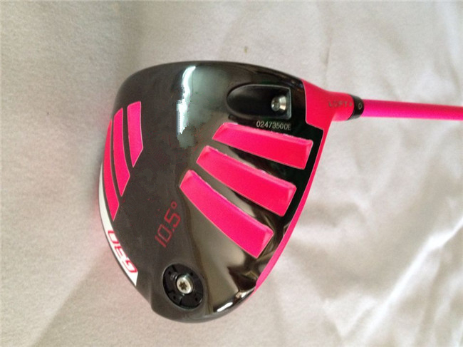 Pink G30 Driver Golf Clubs 9 inch/10.5 inch Degree Regular&Stiff Flex Graphite Shaft Come Head Cover - Leisures store