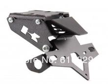 CUSTOMISED MOTORCYCLE FENDER ELIMINATOR/TAIL TIDY/LICENSE PLATE HOLDER COMES WITH BRACKET for KAWASAKI Z750/Z1000  07/ 13(China (Mainland))