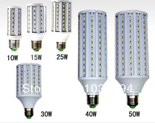 5630 SMD10w/42pcs15w/60pcs 25w//86pcs 30w/102pcs 50w/165pcs smd E27 B22 AC210-240V LED Corn Bulb Lamp Light Freeshipping<br><br>Aliexpress