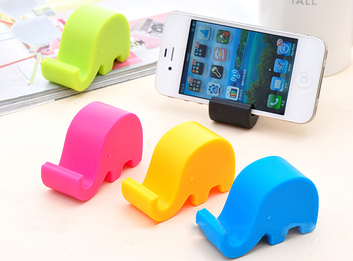 2015 Latest Style Cute Elephant Nose Phone Holder Tablet Coloful Mobile Accessories Stands,,,JM001 - Weilong Jewelry Store store