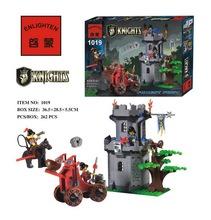 262pcs Hot Sale Castle Fortress Ancient Knight New Building Block Minifigures Kid Toy Gift Compatible Legoelied Lbk_qm_015