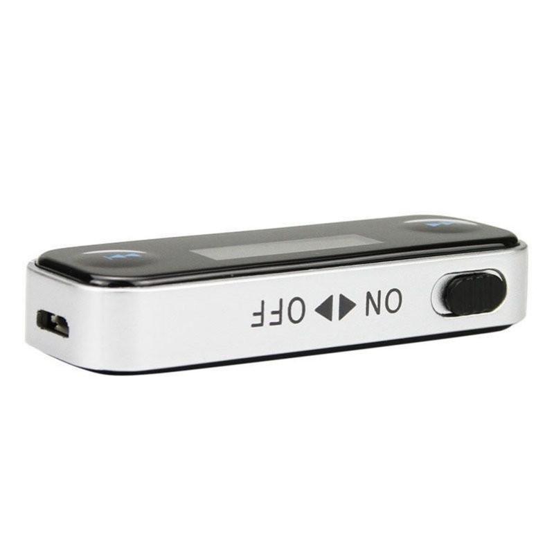 Автоэлектроника mp3-плеер 3.5 мм в автомобильный FM передатчик bluetooth iPhone 5 беспроводной передатчик бесплатная доставка