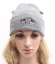Winter Women Men Unisex Knitted Spring Hat Casual Beanies Solid Color Hip-hop Snap Slouch Skullies Bonnet beanie Cap(China (Mainland))