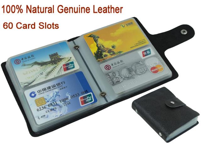 100% натуральная кожа кредитные карты мужчины карты удостоверение личности , чехол ...
