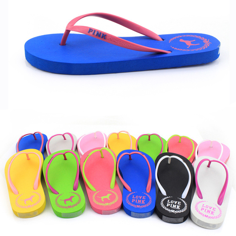 2015 Fashion New brand unisex flip flops Comfortable Summer Beach platform slippers women casual sandals(China (Mainland))