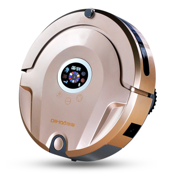 DM105 intelligent sweeping robot cat to automatically charge slim mute household mites mopping machine(China (Mainland))