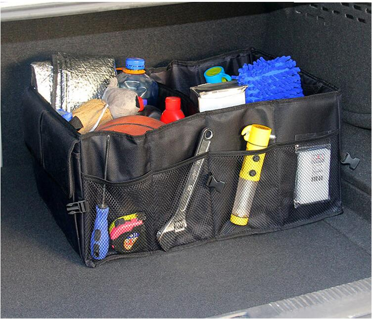 2016 hot sale car accessories car trunk organizer car storage receive bag car boot storage bag. Black Bedroom Furniture Sets. Home Design Ideas